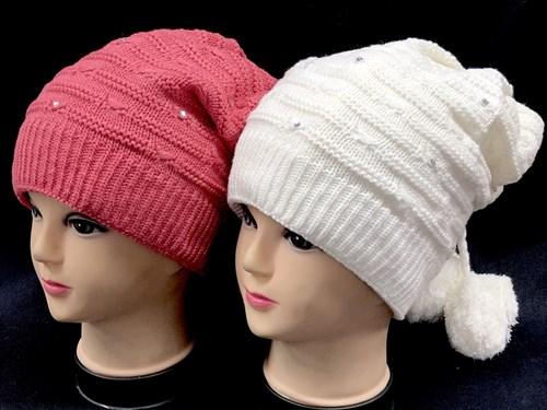 HILLTOP арт. 133 шапка для девочки подкл.флис (р.54-56) - фото 13925