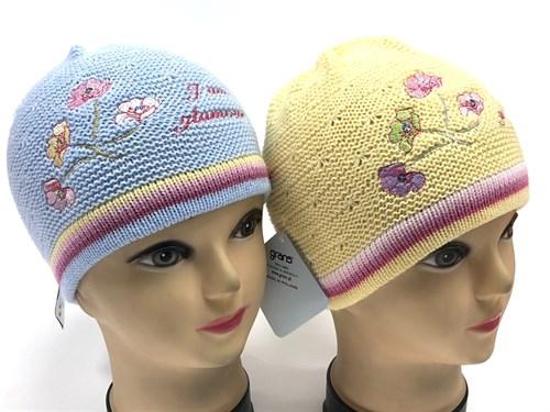 GRANS шапка одинарная вязка (р.46-48) glamour - фото 14271