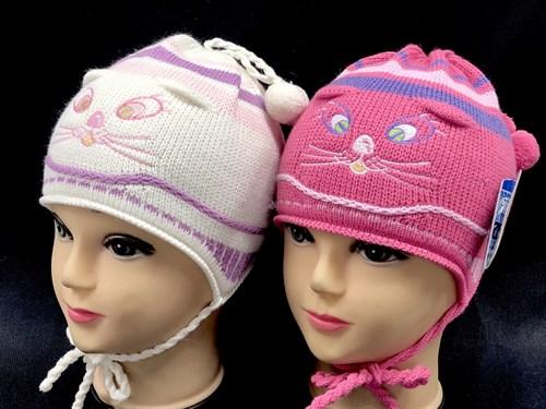 GRANS шапка один.вязк. д/д (мордочка)(р.48-50) - фото 14401