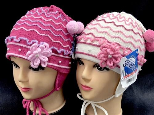 GRANS шапка Ku 96 одинарная вязка (р.42-44) - фото 14403