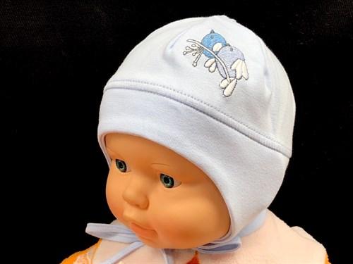 MALAJKA шапка B 874 одинарный трикотаж (р.44) - фото 14414