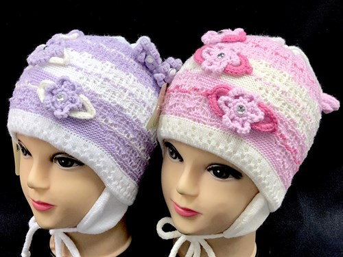 AGBO шапка 300 Eliza двойная вязка (р.48-52) - фото 14497