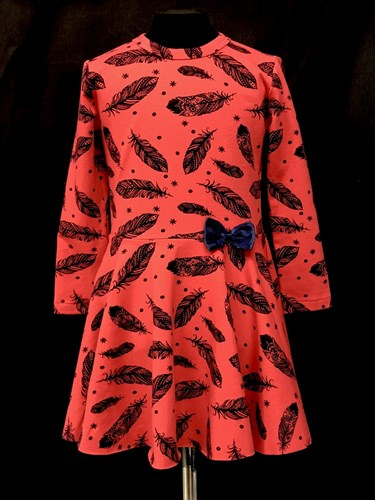платье фирма TER-KO (р.104,110,116,122,128.134) - фото 14705