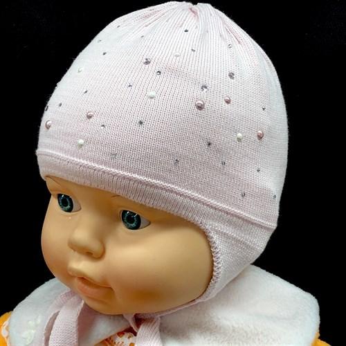Barbaras модель BU 312/C шапка одинарная вязка на х/б  (р.36-38) - фото 15157