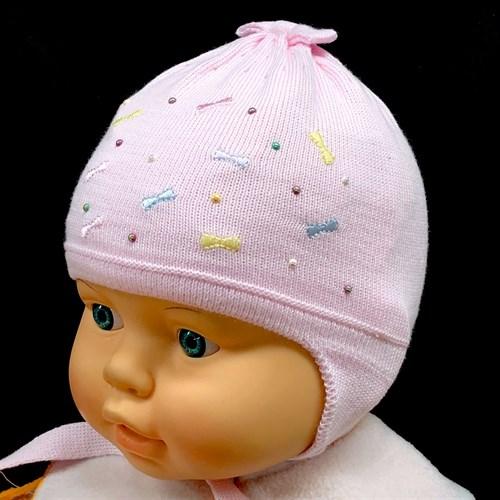 Barbaras модель BU 253/C шапка одинарная вязка на х/б  (р.36-38) - фото 15164
