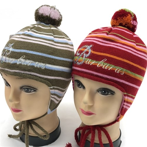 Barbaras модель Z 51 шапка вязаная, подклад флис (р.46-48) - фото 15449