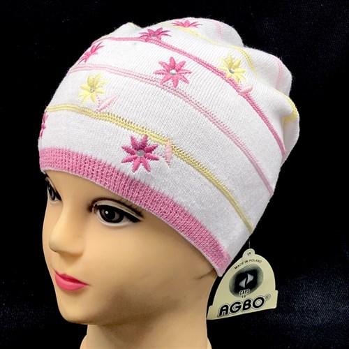 "AGBO шапка Jesein ""3"" одинарная вязка (р.52-54) - фото 15875"