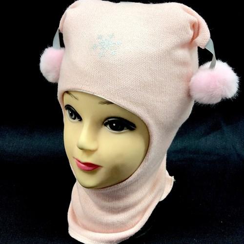 Шлем модель Снежинка подкл.хлопок (р.48/2года) - фото 15990