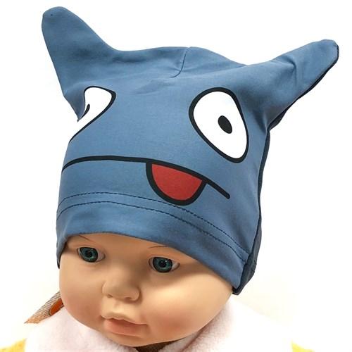 ambra шапка одинарный трикотаж Лягушка (р.44-46) - фото 16014