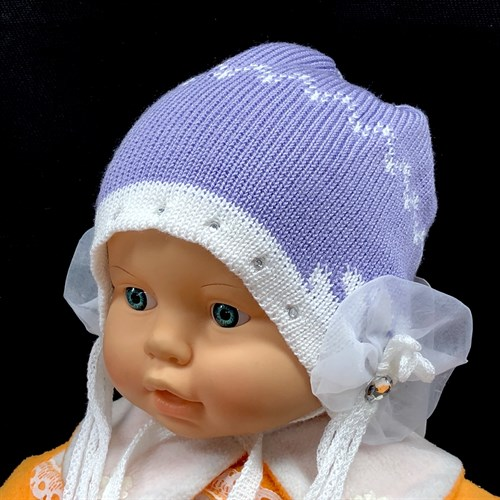HILLTOP шапка двойная вязка (р.48-50) - фото 16079