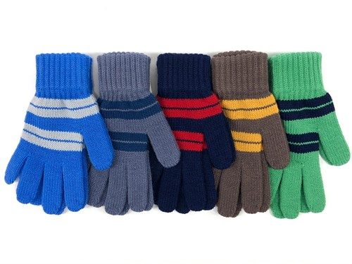 Теплыши перчатки TG-051 одинарная вязка (размер 15) - фото 16363