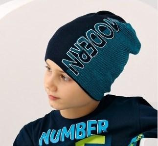 .AJS шапка 38-142 одинарная вязка (р.52-54) - фото 16485