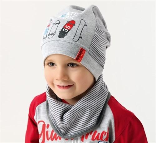 .AJS шапка 38-150 один.трикотаж (р.48-50) - фото 16620