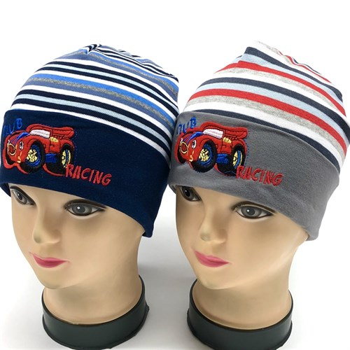 """MP шапка""""CLUB RACING"""" одинарн.трикотаж (р48-50) - фото 16929"""