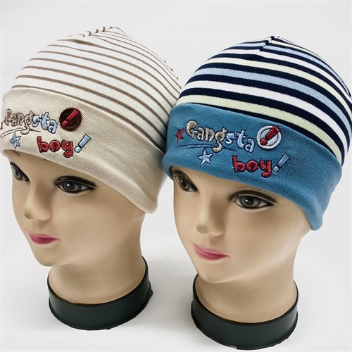 "Witmar шапка одинарный трикотаж (р46-48) ""Gangsta boy"" - фото 16934"