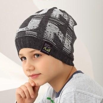 .AJS шапка 38-153 одинарная вязка (р.52-54) - фото 17341
