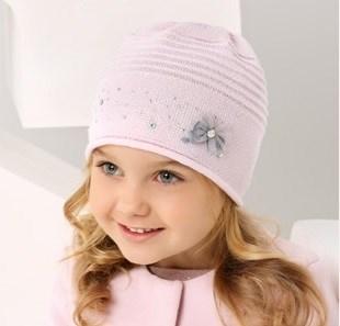 .AJS шапка 38-132 одинарная вязка (р.52-54) - фото 17351