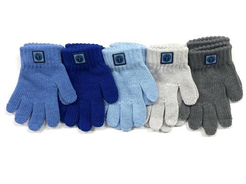 Теплыши перчатки TG-064 одинарная вязка (размер 13) - фото 17475