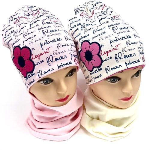 AGBO комплект 2096 Mariola шапка двойной трикотаж + снуд (р.50-52) - фото 18598