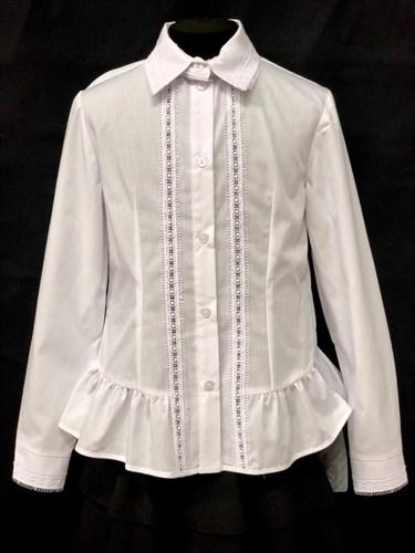 Anna-S nr 4/2019 блузка длинный рукав (р.134-164) - фото 22179