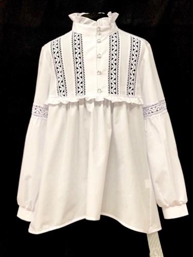 Anna-S nr 5/2019 блузка длинный рукав (р.140-170) - фото 22259