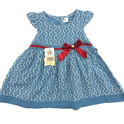 платье фирма HAO HAO (р.8,10,12 месяцев) (малыши) - фото 22460
