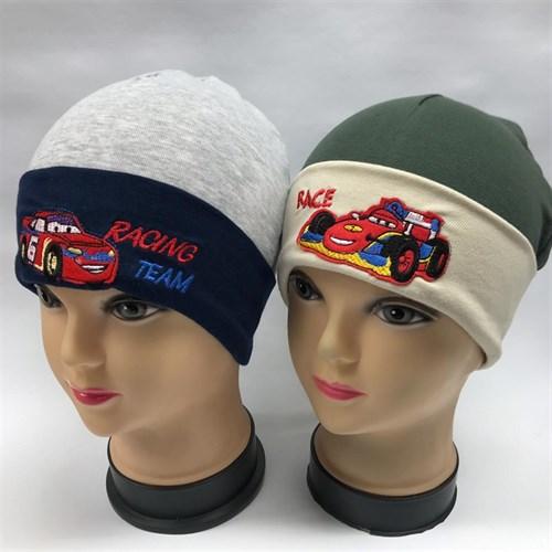 "MP шапка ""RACING TEAM"" одинарный трикотаж (р.48-52) - фото 22711"