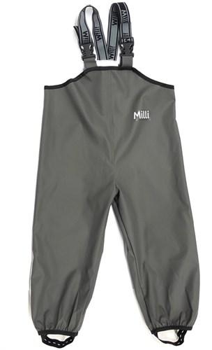 .Milli непромокаемый полукомбинезон Антигрязь, серый - фото 23210