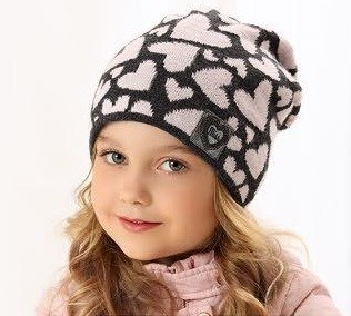 .AJS шапка 38-503 подкл.флис (р.52-54) - фото 23289