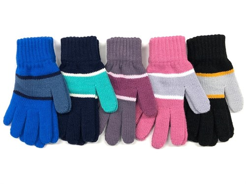 Теплыши перчатки TG-157 одинарная вязка (размер 15) - фото 23393