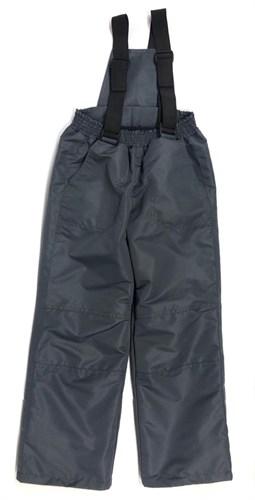 Milli брюки демисезонные, подклад флис арт. 6240 серый (р.110.116.122.128.134) - фото 23470
