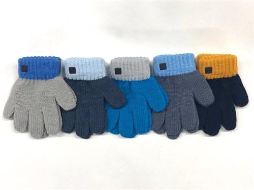 Теплыши перчатки TG-058 одинарная вязка (размер 13) - фото 23591