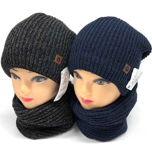 AGBO комплект 2202 Ramos шапка подкл.флис + снуд (р.48-50) - фото 23650