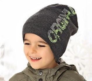 .AJS шапка 38-524 шапка подкл. флис (р.52-54) - фото 23682
