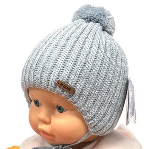 GRANS шапка A 977ST шапка с утеплителем подклад хлопок (р.36-38) - фото 24065