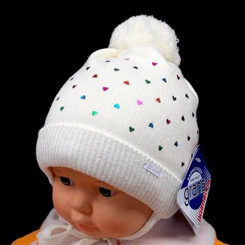 GRANS мод. A 925ST шапка с утеплителем, подклад хлопок (р.38-40) - фото 24068