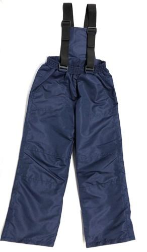 Milli брюки демисезонные, подклад флис арт. 6240 т.синий (р.110.116) - фото 24362