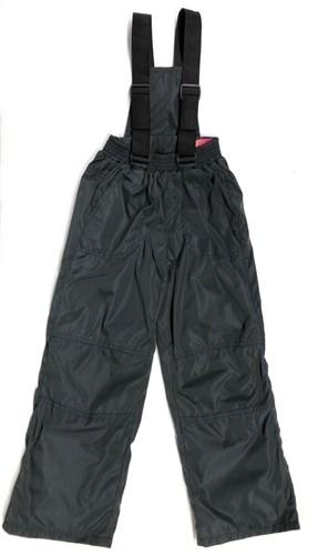 Milli брюки демисезонные, подклад флис арт. 6240 серо-черный (р.110.116.122.128.134) - фото 24371