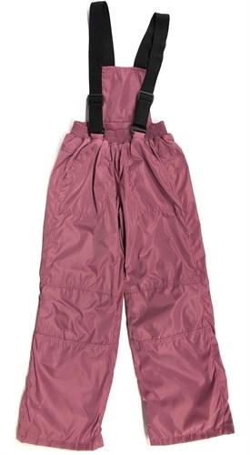 Milli брюки демисезонные, подклад флис арт. 6240 т.розовый (р.110.116.122.128.134) - фото 24492