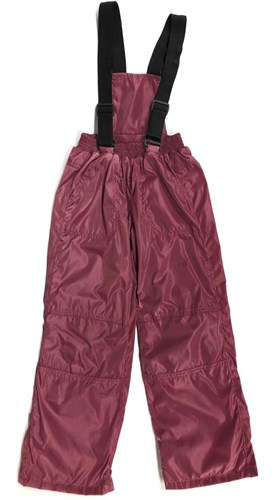 Milli брюки демисезонные, подклад флис арт. 6240 бордо (р.110.116.122.128.134) - фото 24516