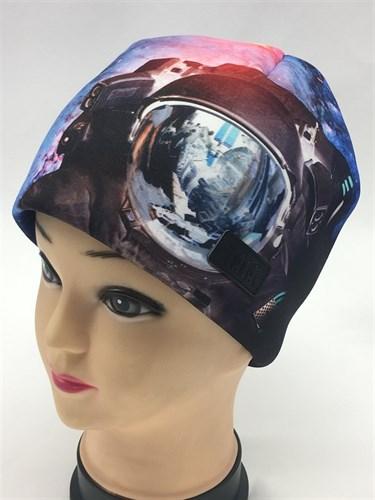 Tu-Tu модель 3-003120 шапка трикотажная КОСМОС с утеплителем (р.54-56) - фото 24686