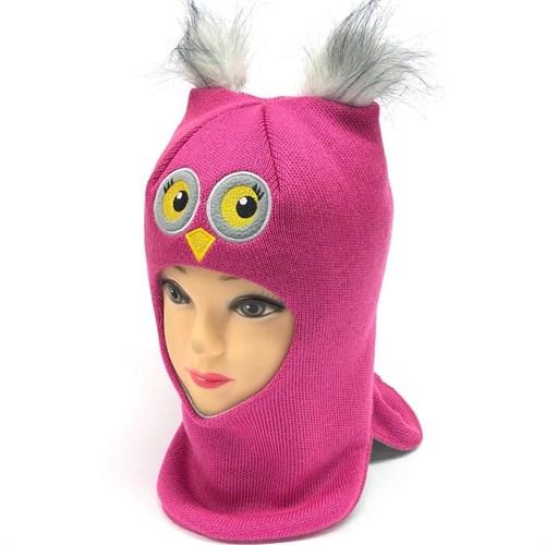 Milli шлем модель Сова, на утеплителе (на 6 лет) зима - фото 24714