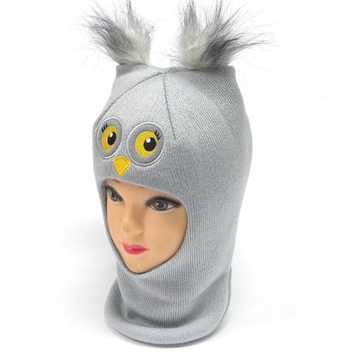 Milli шлем модель Сова, на утеплителе (на 4 года) зима - фото 24722
