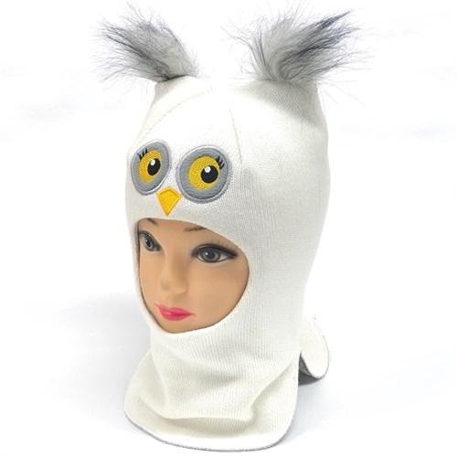 Milli шлем модель Сова, на утеплителе (на 4 года) зима - фото 24724