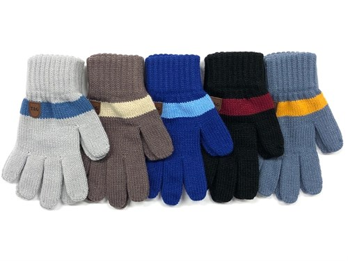 Теплыши перчатки TG-035 одинарная вязка (размер 14) - фото 24817