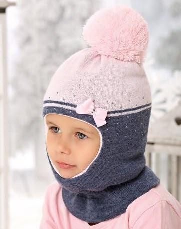 AJS шлем 38-467 двойная вязка (р.52-54) - фото 25161