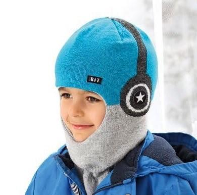 AJS шлем 38-533 двойная вязка(р.52-54) - фото 25180