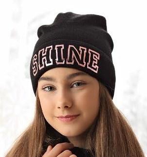 .AJS шапка 38-554 двойная вязка (р.52-54) - фото 25187