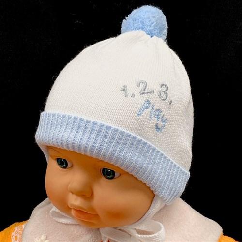 GRANS шапка N 153 вязаная, подклад хлопок (р.38-40) - фото 25249