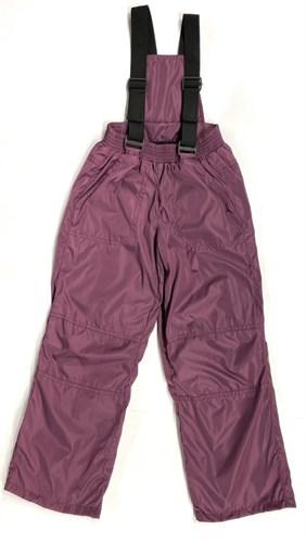 Milli брюки демисезонные, подклад флис арт. 6240 вишня (р.110.116.122.128.134) - фото 25278